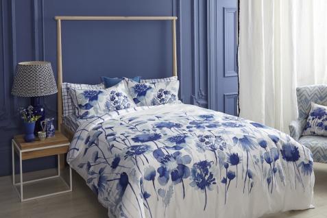 Bettwasche 155x220 Bluebellgray Corran Mako Satin Garnitur Mit