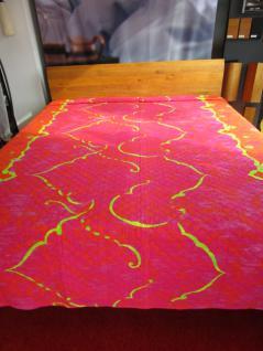"""Tagesdecke Granfoulard von Bassetti """" Hamada V1"""" Größe 265x255cm"""