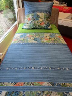 Bettwäsche 155x220 Goa V1 von Bassetti Mako-Satin-Bettwäsche Einzel-Garnitur