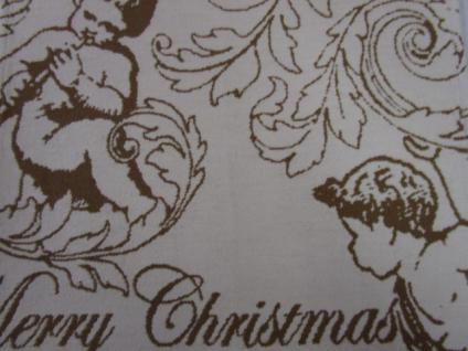 Platzdecke 45x40 cm Weihnachtsmotiv Engel