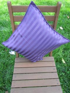Kissenbezug Villa 40x40 cm für Dekokissen Farbe Pflaume von Proflax