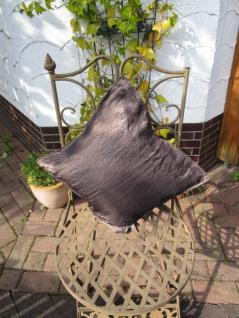 Kissenbezug Garcia 40x40 cm für Dekokissen Farbe Schokobraun Proflax