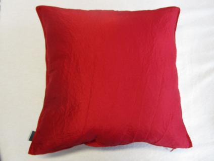 kissenbezug garcia 50x50 cm f r sofakissen farbe rot kaufen bei betten krebs gelnhausen. Black Bedroom Furniture Sets. Home Design Ideas