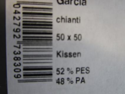 Kissenbezug Garcia 50x50 cm für Sofakissen Farbe ROT - Vorschau 5
