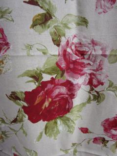 Vorhang Rosen mit Schlaufen fertig konfektioniert ca. 245x140 cm von Rico