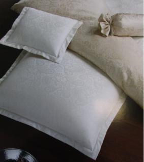 Bettwäsche 135x200 cm weiss Garnitur aus 100% Naturbaumwolle