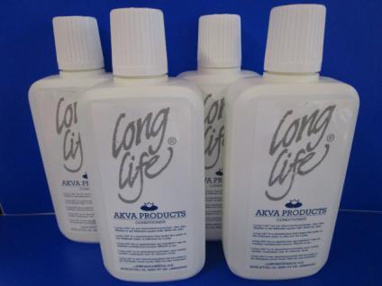 Wasserbett-Pflege Akva Long Life Conditioner Set bestehend aus 4 Flasche je 380 ml = 1520 ml für Wasserbetten - Vorschau 2