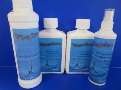 Pflegepaket von Stricker Chemie 4-teilig 2 Conditioner + 1 Vinylreiniger und 1 Vinylcreme fürs Wasserbett