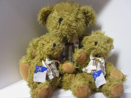 Teddybär, klein mit Weste - Vorschau 5