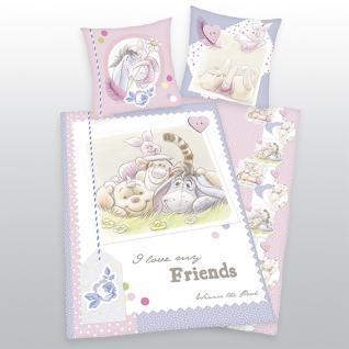 Winnie the Pooh Kinder Bettwäsche 135x200+80x80 cm 4423 19 050 von Walt Disney von Herding