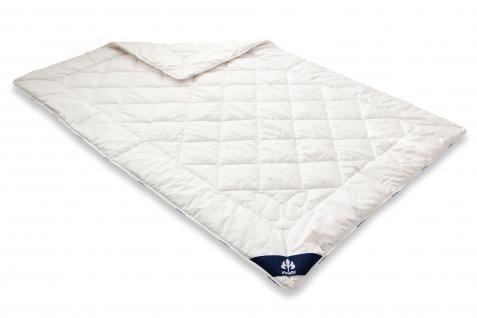 Wild-Seide 135x200 Sommer-Bettdecke Steppbett aus 100 % Naturmaterial