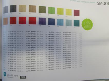 Kissenhülle Uni 40x40 cm in der Farbe petrol von pad - Vorschau 3
