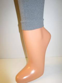 Leggings, Damen in der Farbe grau melange Größe S