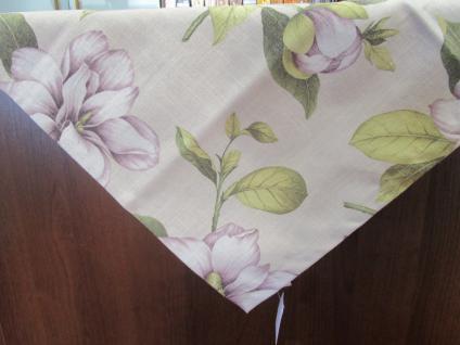 Tischdecke Blumenmotiv 110x110 cm von Rico Design Mitteldecke - Vorschau 3