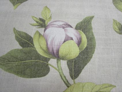 Tischläufer Blumenmotiv 45x150 cm von Rico Design Leinenoptik - Vorschau 2