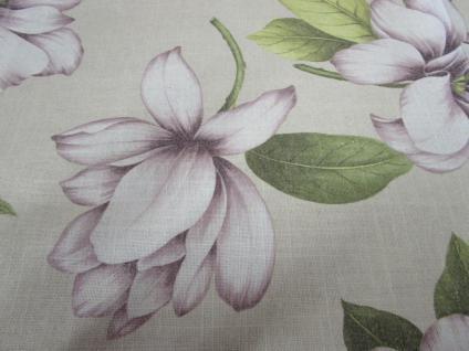 Tischläufer Blumenmotiv 45x150 cm von Rico Design Leinenoptik - Vorschau 4