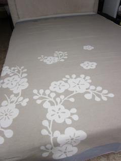Tagesdecke 240x220 cm Überwurf 1 b Ware für ein Doppelbett Floral von David Fussenegger kleiner Webfehler