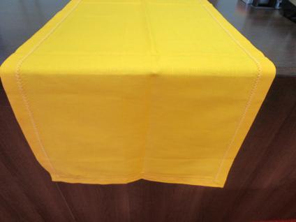 Tischläufer 45x150 cm von Bassetti Farbe sonnengelb B-Ware