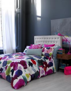Bettwäsche 155x220 von Bluebellgray Abstract 100 % Baumwolle Satin Garnitur inkl. 1 Kissen 80x80 - Vorschau 3