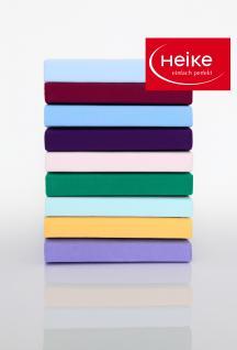 Spannbetttuch Heike 180-200x200-220 cm 40 cm hoch Multistretch Jersey 95% Baumwolle 5% Elastan Spannbettlaken in vielen schönen Farben