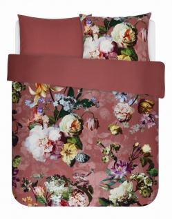Bettwäsche 155x220+80x80 cm von Essenza Fleur Dusty Rosé - Vorschau 4