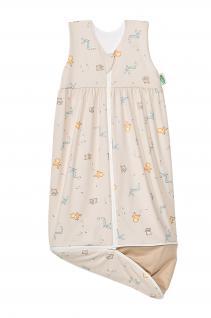 Schlafsack Anni Plus 70-90 cm Art. 1158 von Odenwälder BabyNest Farbe beige - Vorschau 1