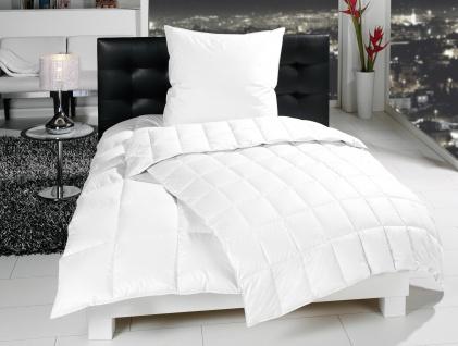 Daunendecke, 135x200 cm von Häussling Bettdecke Allyear medium - 100 % neue weiße Gänse-Daune Ganz-Jahresdecke