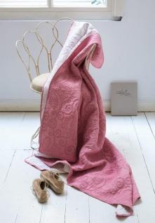 Tagesdecke Leaves Quilt von PIP Studio in der Farbe Rosé/White, Größe 220x265cm