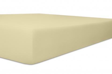 Spannbetttuch Organic-Cotton, natur 140x200x30 bis 160x220x30 cm GOTS zertifiziert von Kneer