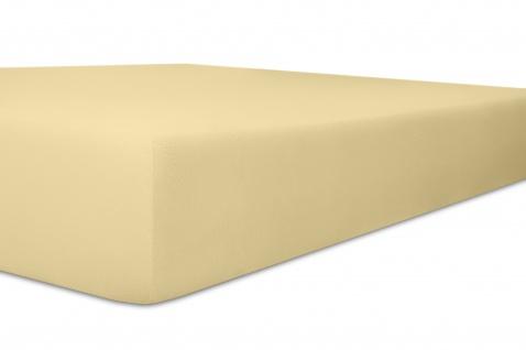 Spannbetttuch Organic-Cotton, kiesel 140x200x30 bis 160x220x30 cm GOTS zertifiziert von Kneer