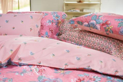 Bettwäsche 135x200+80x80 cm von Pip-Studio Berry Bird Farbe Pink
