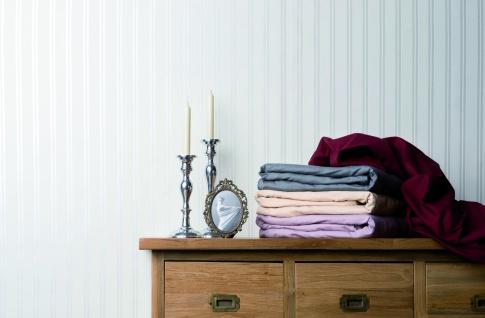 Bella Donna 180-200x200-220x25 cm Spannbetttuch 0185 Rot Jersey 97% Baumwolle 3% Elastan - Vorschau 5