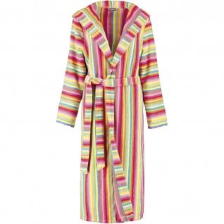 Bademantel für Damen in Gr. 36 von der Marke Cawö in 100% Baumwolle Frottier in der Farbe Multicolor