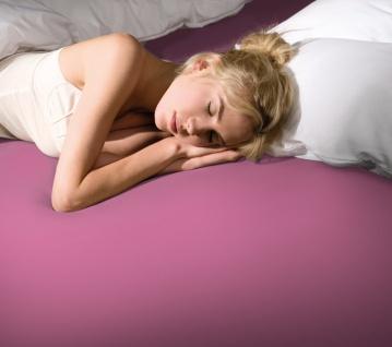 Bella Donna 90-100x190-220x25 cm Spannbetttuch 0539 Flamingo Jersey 7% Baumwolle 3% Elastan
