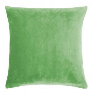Kissenhülle Uni 40x40 cm in der Farbe rich green von pad