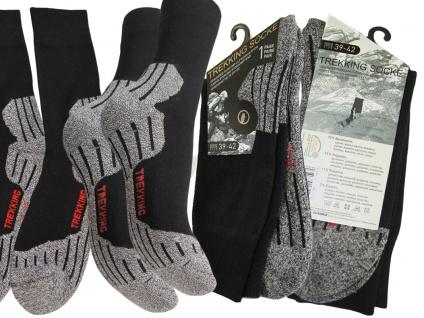 Socken Sportsocken Gr.47 bis 50 Trekkingsocken für Herren - Vorschau 2