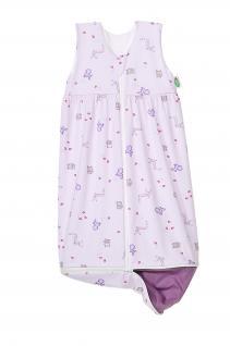 Schlafsack Anni Plus 70 bis 90 cm Art. 1158 von Odenwälder BabyNest Farbe flieder - Vorschau 1