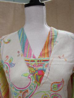Damen Nachthemd von Bassetti Größe S 36 Misty V8 Langarm Reine Baumwolle