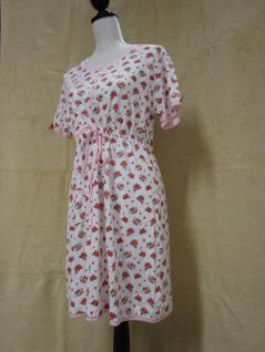Damen Nachthemd von Clayre & Eef LOR75-02M - LOR75-02L Kurzarm - Vorschau 2