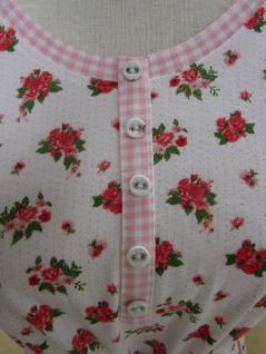Damen Nachthemd von Clayre & Eef LOR75-02M - LOR75-02L Kurzarm - Vorschau 4
