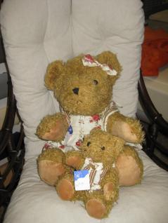 Teddybär, groß mit Weste ca. 35 cm - Vorschau 3