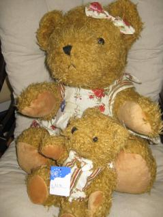 Teddybär, groß mit Weste ca. 35 cm - Vorschau 2