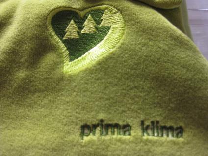 Schlafsack Prima Klima Niki 70 cm von Odenwälder BabyNest Limette - Vorschau 3