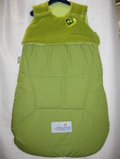 Schlafsack Prima Klima Niki 70 cm von Odenwälder BabyNest Limette