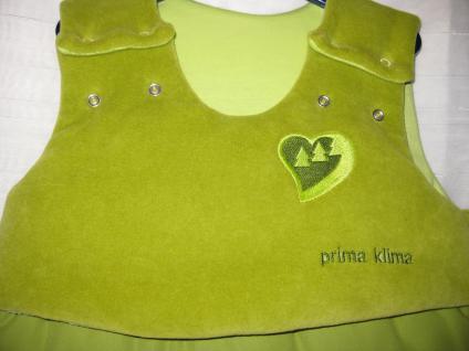 Schlafsack Prima Klima Niki 70 cm von Odenwälder BabyNest Limette - Vorschau 2