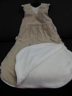 Schlafsack 90 cm Beige Jersey von Odenwälder BabyNest 1091/620