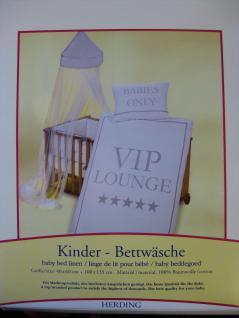 """Kinder Bettwäsche 100x135 + 40x60 cm """"VIP"""" von Herding - Vorschau 2"""