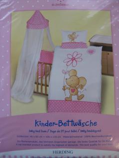 """Kinder Bettwäsche """" Lillebi by Steinbeck"""" 100x135 + 40x60 cm von Herding"""