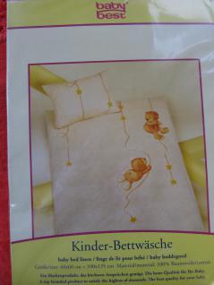 """Kinder Bettwäsche 100x135 + 40x60 cm """" Jana Bär&Sterne"""" von Herding - Vorschau 4"""