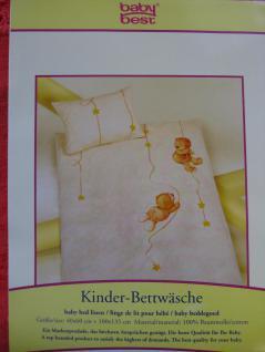 """Kinder Bettwäsche 100x135 + 40x60 cm """" Jana Bär&Sterne"""" von Herding"""